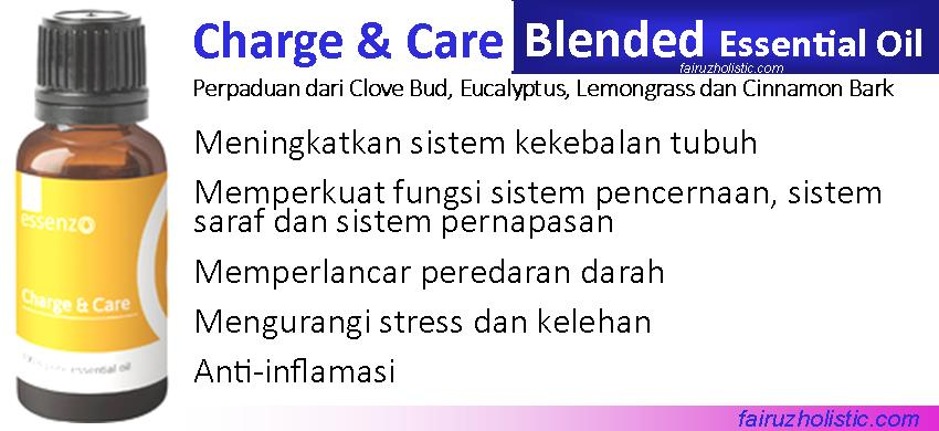 Charge & Care Essential Oil