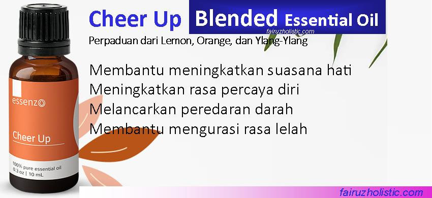 Cheer Up Blended Essential Oil