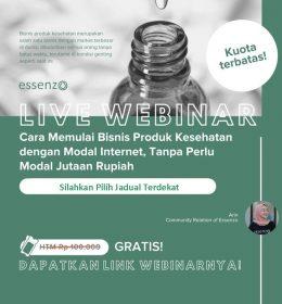 Free Essenzo Live Webinar