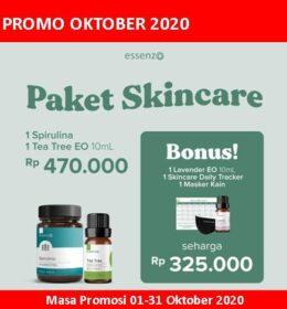 Essenzo Promo Oktober Paket Skincare