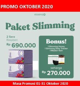 Essenzo Promo Oktober Paket Slimming