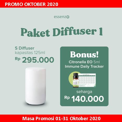 Essenzo Promo Paket Diffuser 1