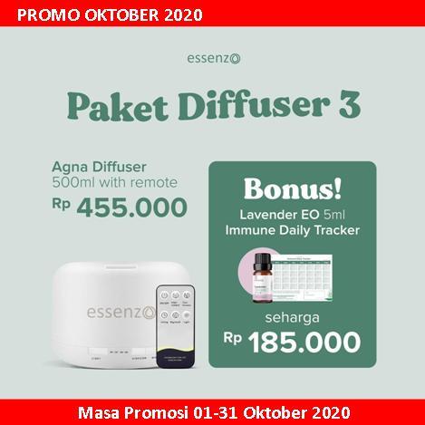 Essenzo Promo Paket Diffuser 3